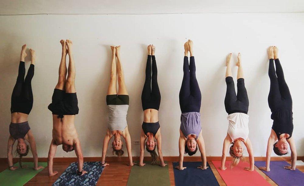 yoga internships teach travel Medellín Colombia
