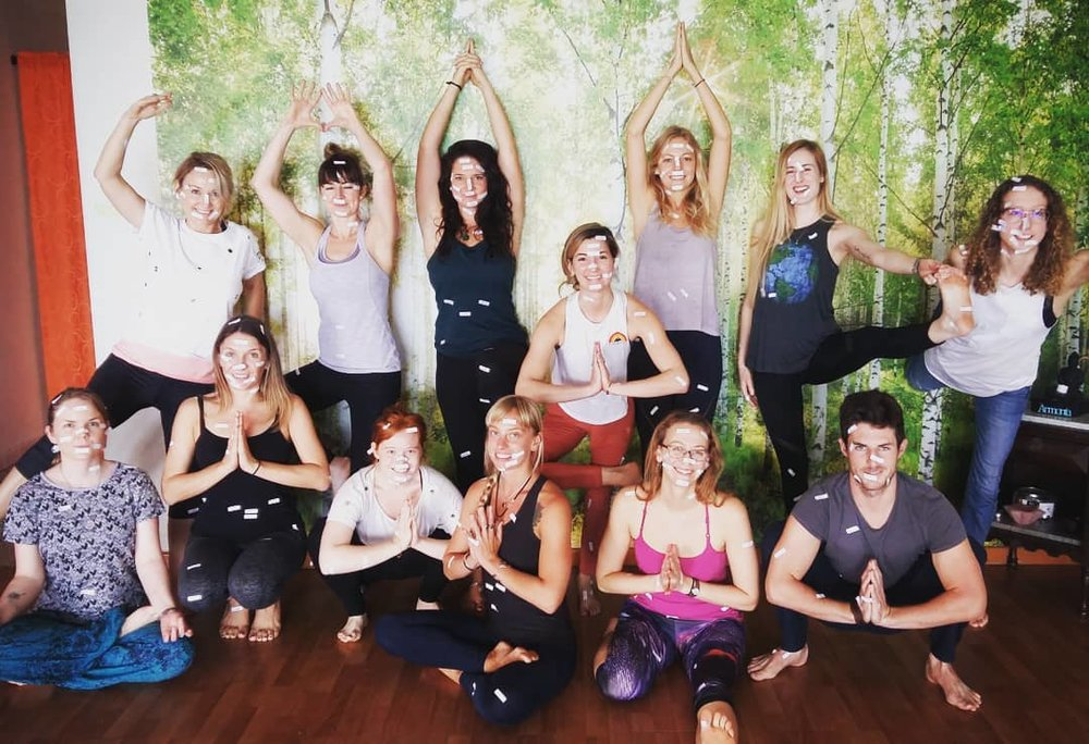 200 hour yoga alliance teacher training Medellin Colombia 2