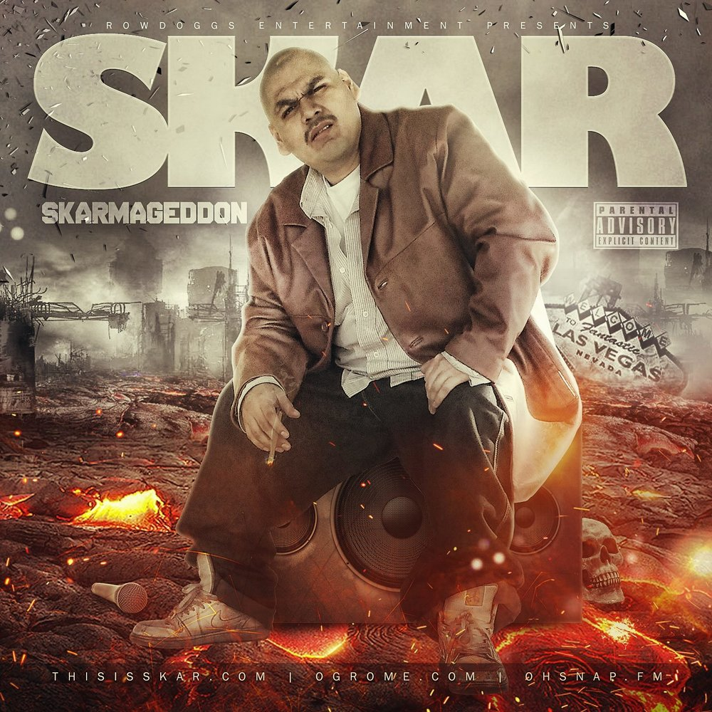 Album Review - If you are not familiar with Skar and his punchline flooded rhymes, then you gon' learn today. It's hard not to notice the impressive skills when every song consistently overwhelms the listener with undeniable talent. This 15 track album gets a final review of 4 out of 5 earning the bragging rights of bangers on bangers!