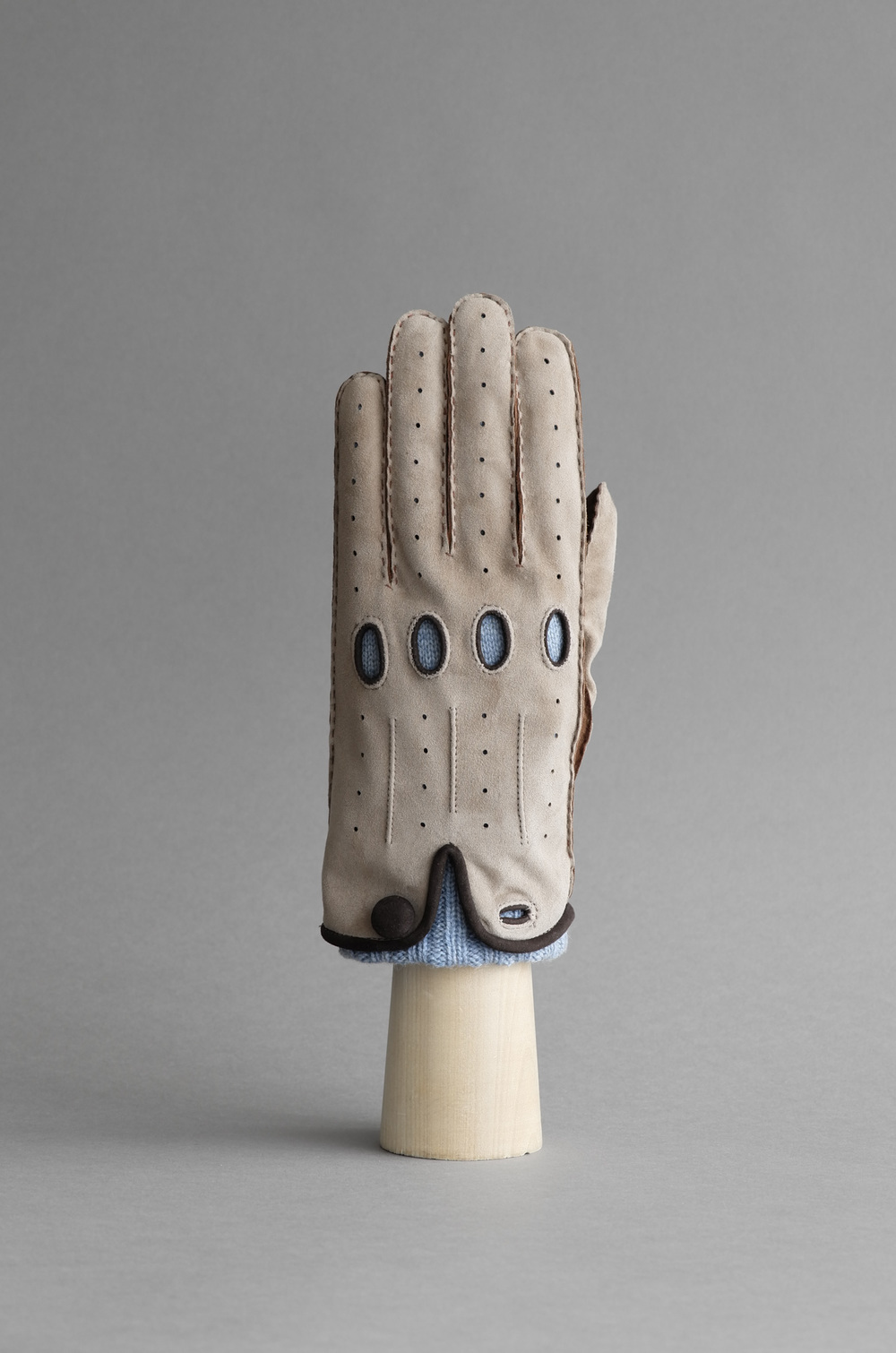Thomas Riemer reindeer driving gloves lined with cashmere