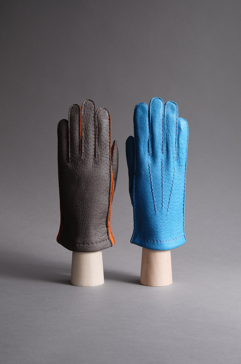 Thomas Riemer peccary gloves
