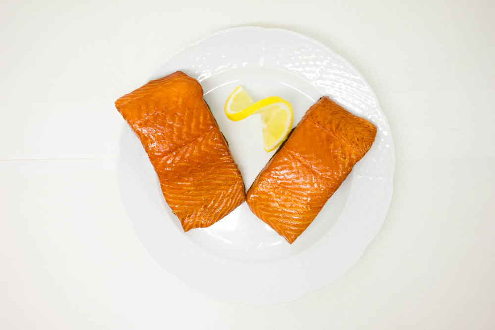 Traditional Oak Smoked Salmon   Hand sliced salmon