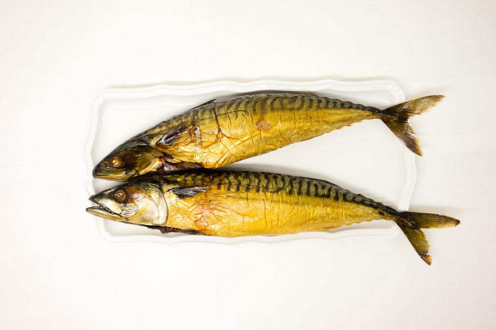 Traditional Hot Smoked Mackerel