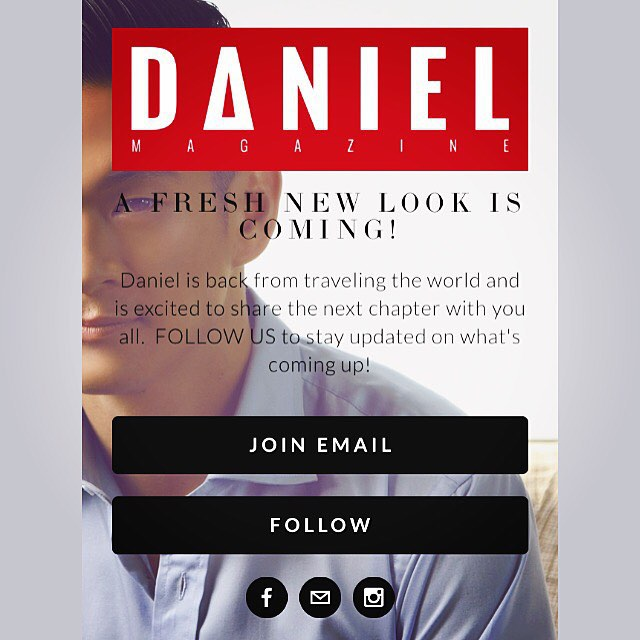 Daniel is back! The next chapter of Daniel will be revealed in the coming week. Stay tuned at danielmagazine.com #danielmagazine #iamadaniel #gayasian #gaysian #gay #lgbt #asian #asianmen #lgbtq #bisexual