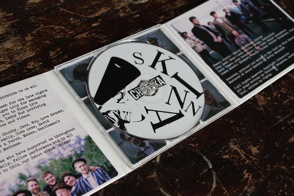 'Skinna' - CD version — Chainska Brassika