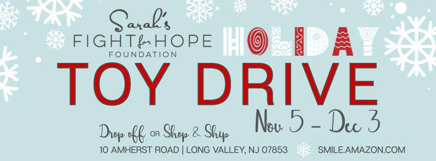 NJCYB is proud to support Sarah's Fight for HOPE Foundation, an amazing organization that helps families who are battling childhood cancer. There is a box located at NJSDA which is a collection location for their Toy Drive. We are honored to help bring joy to these brave children during the holiday season. Keep an eye out for updates and please help us in supporting their wonderful cause!!!🎗💛  Help us support Sarah's Fight For Hope now through December 3.