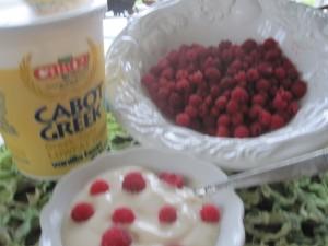 raspberriesyogurt