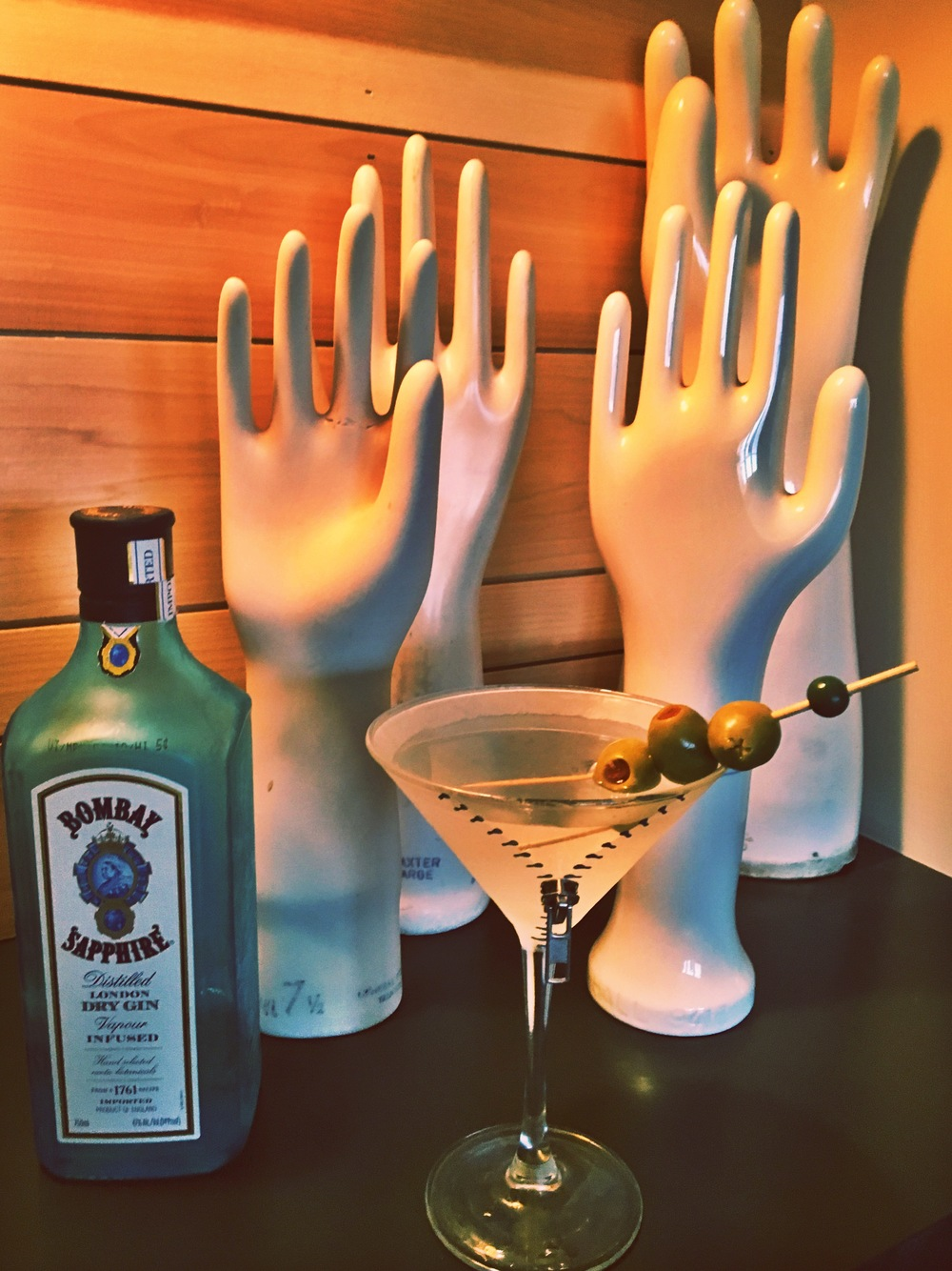 Click here for the Perfect Martini recipe.