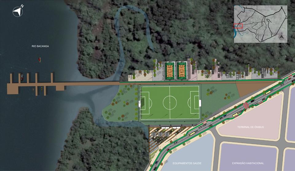 Complexo esportivo do Rio Bacanga