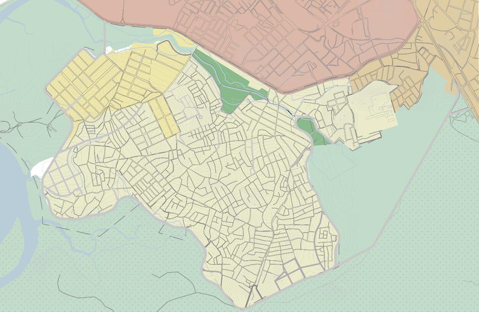 Mapa de zoneamento