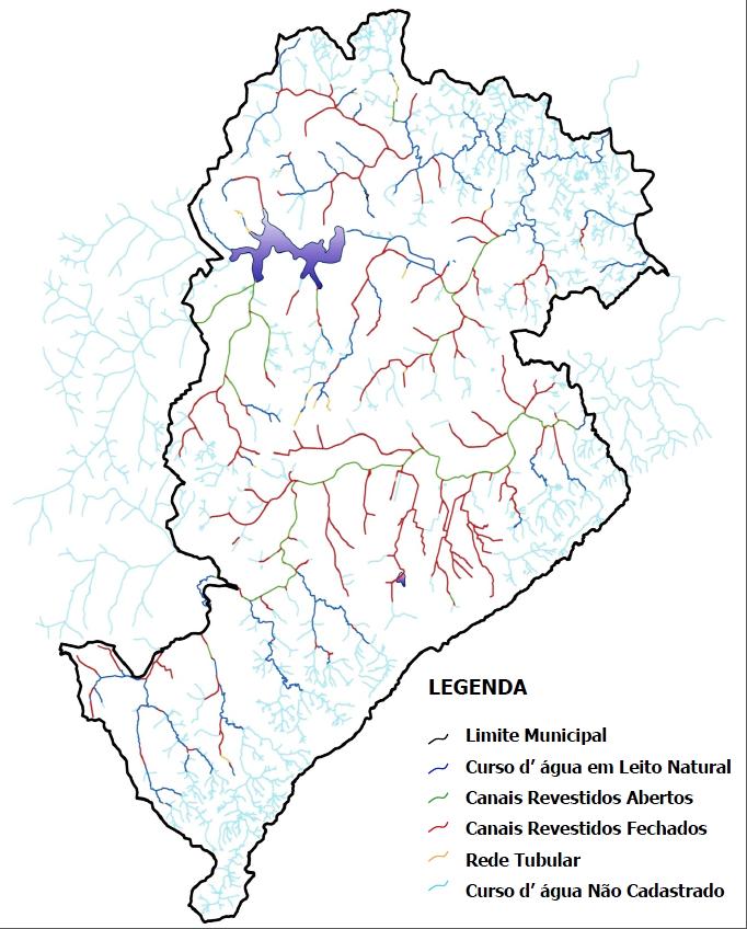 Fonte mapa: Politíca de combate a inundações de Belo Horizonte - PBH