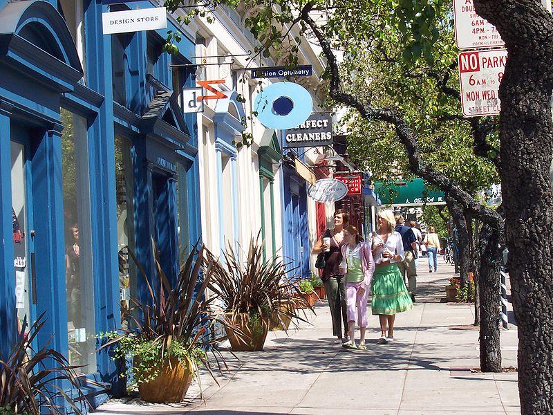 Calçadas da Cidade de São Francisco, Estados Unidos.Foto: Christopher Beland