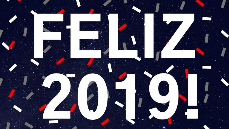 Boas festas e 2019 de muito sucesso!