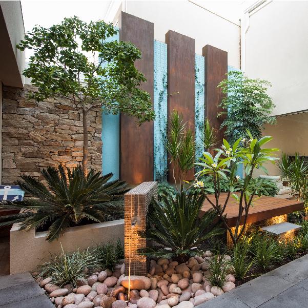 WALDA landscape design awards CultivArt residential courtyard landscape design 2