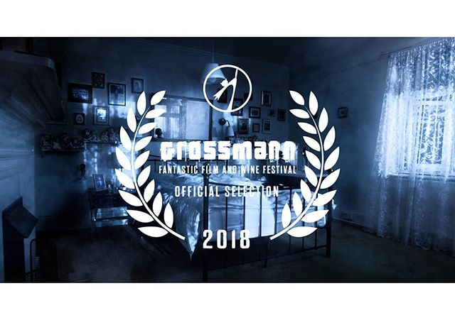 Really proud and excited to have my film shown in the competition section for @grossmannfest Thank you to all the people supporting me and your kind words