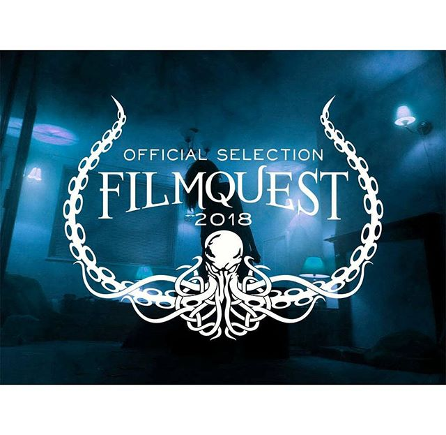 Really proud to get into this amazing horror film festival. Guarantee @filmquest is just going to get bigger and bigger ever year! It's such a fast growing film festival.  Really sad that I can't make it. Stuck in the UK! But so happy regardless.  Screenings on September 11th get your tickets now!
