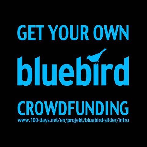#getyourownbluebird #bluebirdgoestravelling #theadventuresofbluebird #filmmaking #bluebird #bluebirdiseverywhere #slider crowdfunding #visualpark #lightscope