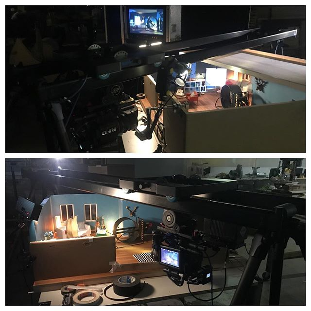 #bluebird #cameraslider #red6k #easyupsidedownshot #hangingcamera #trackinshot #lightscope #filmmaking