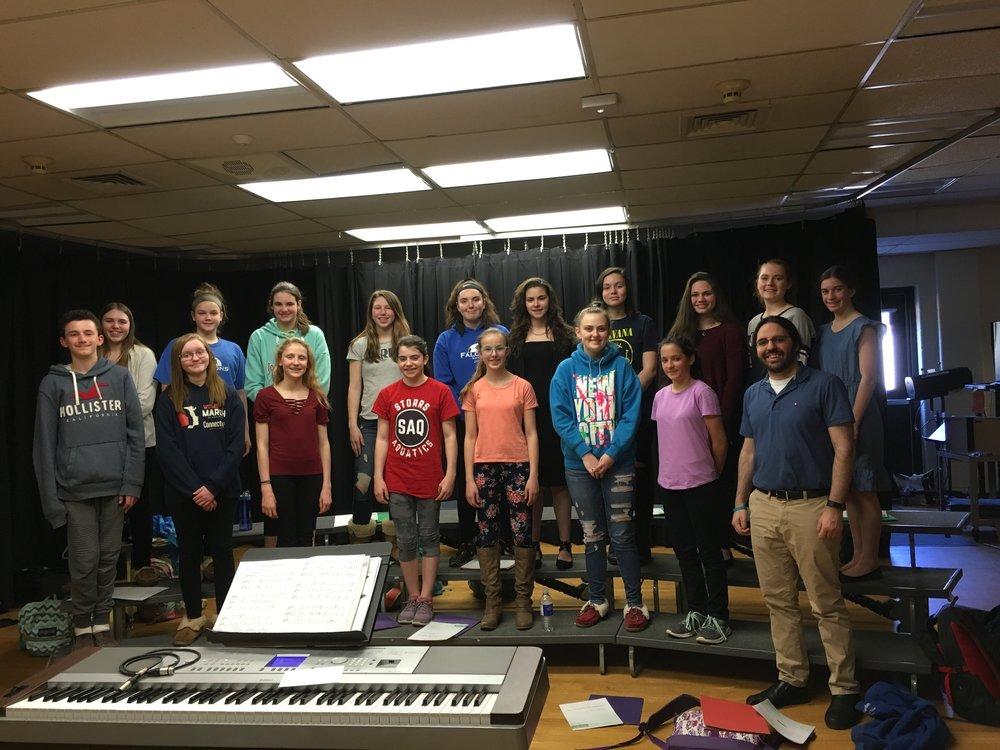 Hall Memorial School Falcon Treble Chorus