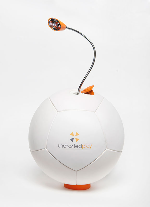 Soccket Energy Harnessing Soccer Ball - Uncharted Play