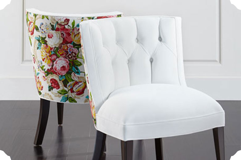 Floral Chair | Horchow.com