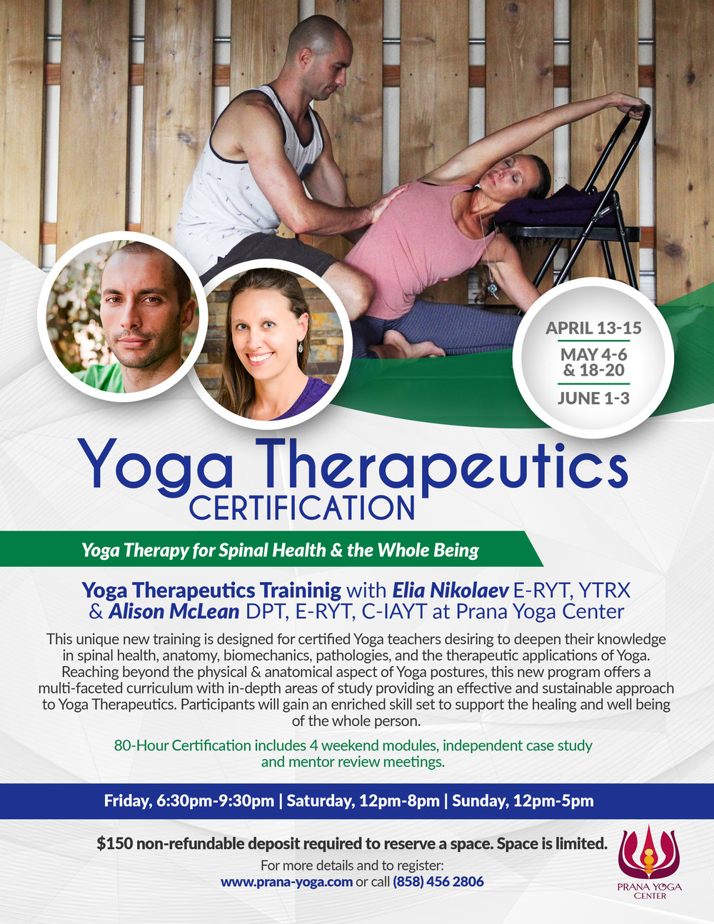 Yoga Therapy certification