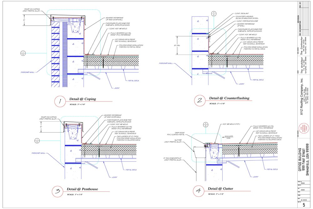 Free Quotes Commercial Roofing Shop Drawings