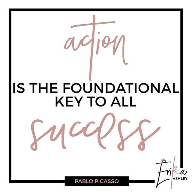 What actions have you taken today to move towards your success? My 1:1 coaching packages double in price at midnight. Send me a message if you wanna chat!