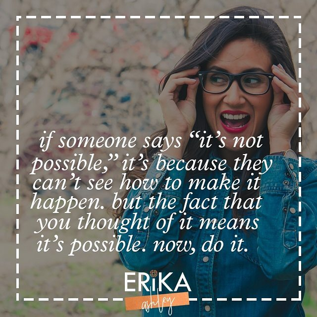 """One of the most frustrating things is hearing """"it's not possible."""" If you have the ability to think it, then you have the ability to do it. You wouldn't be able to think of something that you couldn't possibly do. Whatever you want is within your grasp.  #bionicplague #awesomeness #Abundance #badass #Bossbabe #thegoodlife #glamlife #entrepreneur #instachic #femaleentrepreneur #GoodVibes #hardworkpaysoff #inspire #badasschicks #luxury #lovetravel #mompreneur #millionaire #Motivational #purebarre #purebarrelife #Namaste #selfworth #NeverGiveUp #PositiveEnergy #hustle #positivelife #loveshopping #launchbabes"""