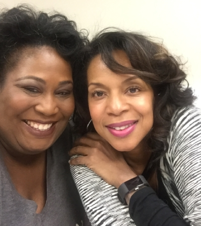 Me and Monique - ready to uplift and empower!
