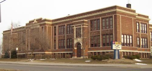 This is the school where I began my teaching career - K. B. White Elementary.
