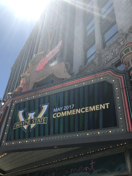 Graduation ceremonies were at the Fox Theater on May 9th.