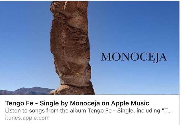 We're for sale! Add us to your player.  #itunes #monoceja #arthuryoria #indierock #musicaenespañol #rock #colombia Tengo Fe - Single by Monoceja https://itun.es/us/0RtHdb