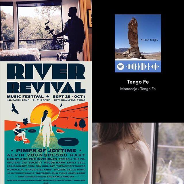 See us, hear us. #tengofe #RiverRevival #splicerecordstx #youtube #spotify #music #videos #livemusic #indierock #austin #houston #arthuryoria