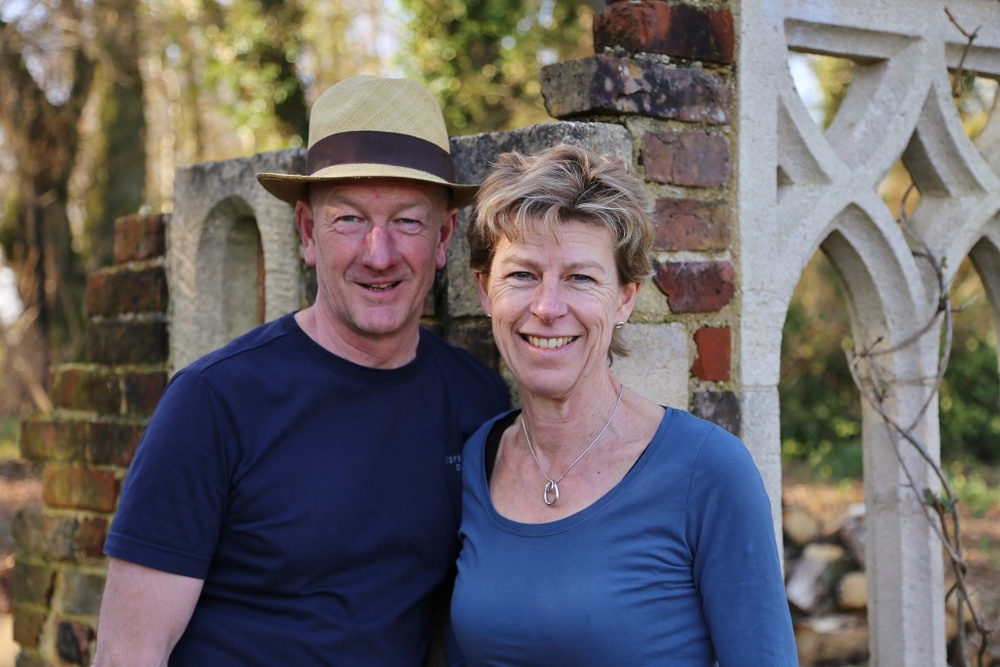They return to Sandhill Farm, Sherfield English, the garden of Ros and Andy McIndoe which has welcomed groups by appointment for several years.