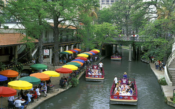 San Antonio Riverwalk: A vision of walkable (and boatable, I guess) Texas (ron niebrugge)