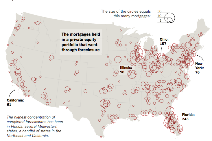 What mortgage crisis? (NYT via RealtyTrac)