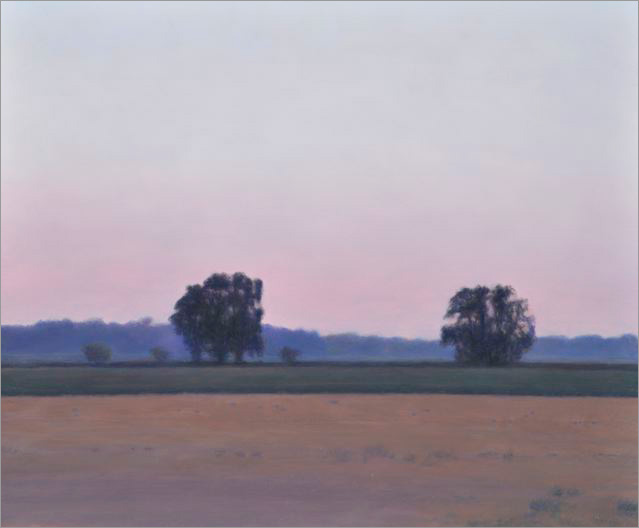 "Near Davis  10 x 12""  oil on panel  2008"
