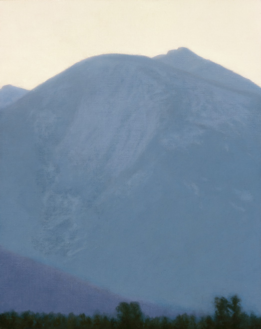 "Early Morning Light, Absaroka Mountains  10 x 8""  oil on linen  2010"