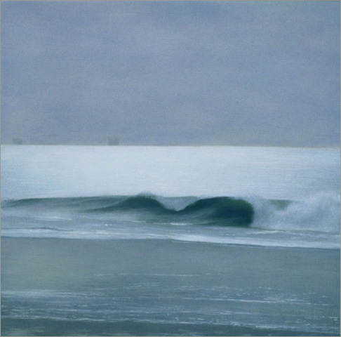 "Wave: Lavender Light  8 x 8""  oil on panel  2007"