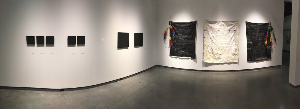 """Spiral, Recoil"" @ The Delaware Contemporary, Wilmington, DE - 2017"