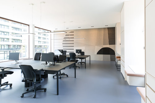 Design Kantoor Bureau.Studio Tomorrow Trendlab Interior Design