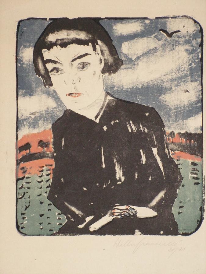 """GRAMATTé, """"Mädchen am See"""" (Sonia Gramatté"""