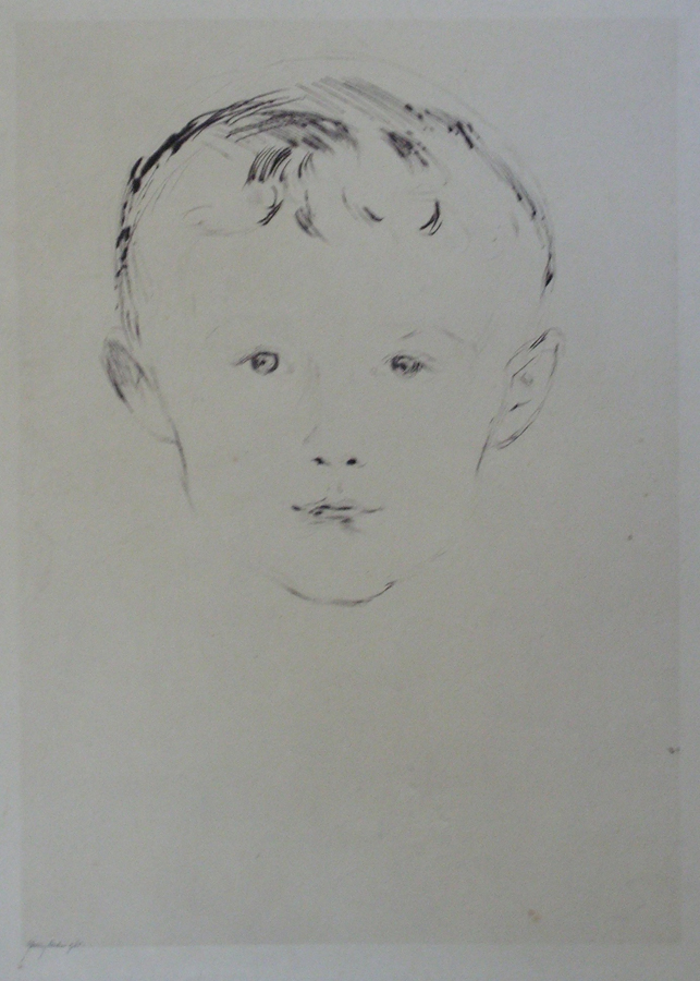 "MUNCH, ""Portrait of a Boy"""