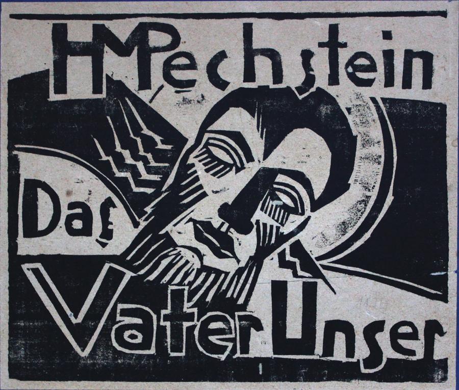 """PECHSTEIN, """"Das Vater Unser"""""""