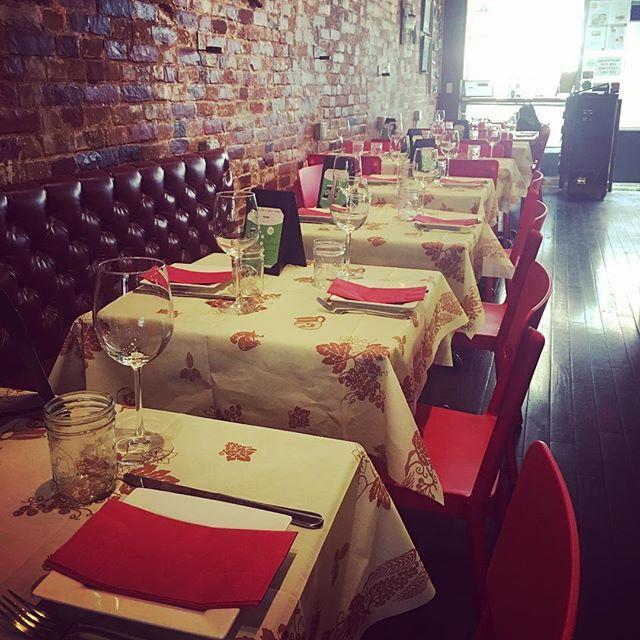 New Table Set up #romagnaready2go  #lunchspecial #lunch #mealpal  #fooddiary #food #foodporn #instafood #foodlover #foodaddict #foodaddiction #foodie #yummy #tasty #delicious #restaurant #italianrestaurant #nyc #nycfat #nyeats #ny #bleeckerstreet #romagnaready2go #chef #piadina #romagna #ny #nyc #italiandoitbetter #italy🇮🇹❤️