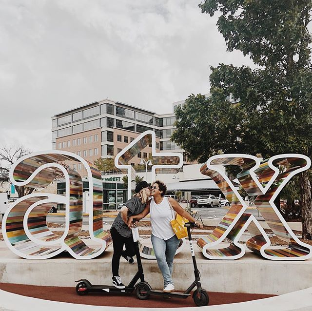 hey @bird sponsor us? new city, same annoying the locals with our city explorations. the verdict is out - #atx, we love you. ⋒ pc: @elyseesnipes