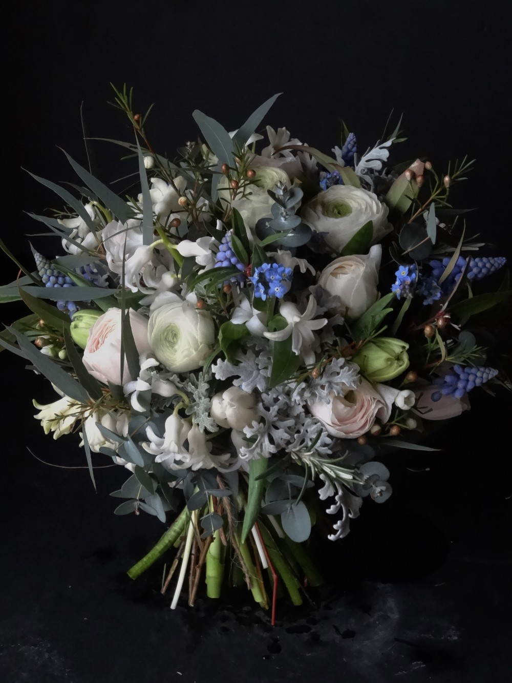 March bridal bouquet