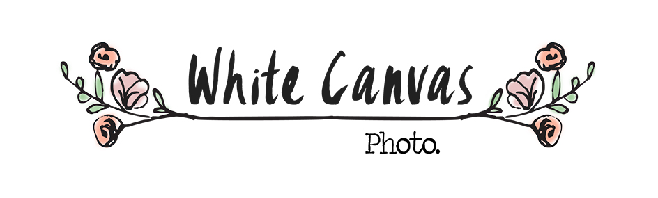 White Canvas Photo.