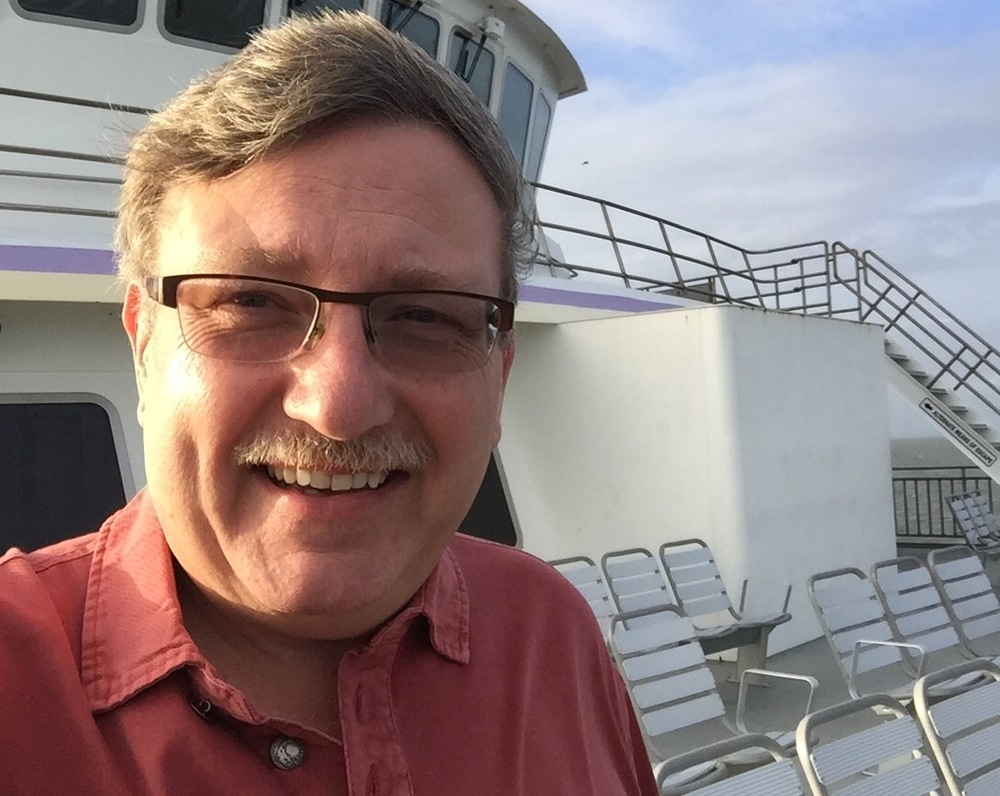 Carl White on Boat to Ocracoke.jpg